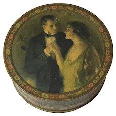 Woodbury Facial Powder Box,  Circa 1920