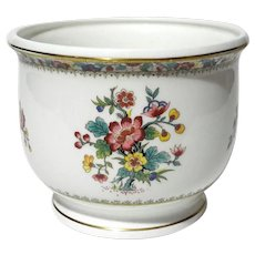 Coalport China Ming Rose Jardiniere