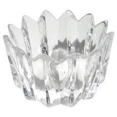 Signed Vintage Orrefors Crystal Bowl
