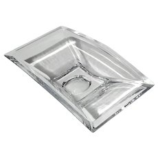Nambe Crystal Planar Rectangular Bowl