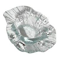 Scandinavian Ice Glass Bowl
