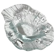 Scandinavian Ice Glass Bowl