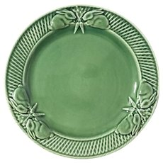 Bordallo Pinheiro Portuguese Majolica Dinner Plate