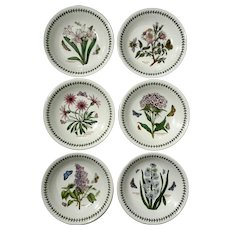 Set Of Six The Botanic Garden Portmeirion Bowls