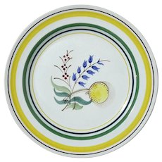 Set Of Six  ARABIA OF FINLAND Windflower Luncheon Plates