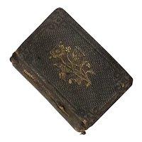 Miniature 1st Edition Honey Drops Book Published 1855