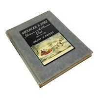 Currier And Ives Special Edition Book, Published 1942