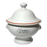 French Paris Porcelain Tureen