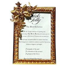 Kirks Folly Gold Metal Fairy Picture Frame