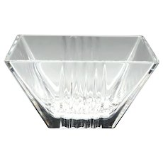 Tiffany & Co Metropolis Crystal Bowl