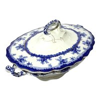 John Maddock & Sons Transferware Soup Tureen