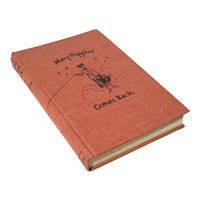 Cloth Bound Edition Of Mary Poppins Comes Back, 1963