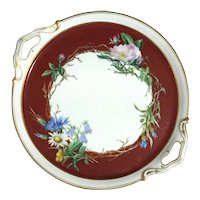 19th Century French Porcelain Tray