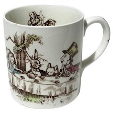 Johnson Brothers Alice In Wonderland Child's Mug