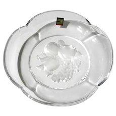 Hoya Japanese Crystal Pomona Fruit Bowl
