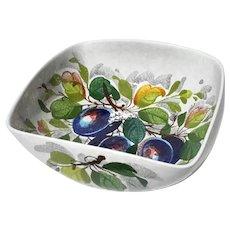 Mid-Century Vintage Italian Faience Glazed Pottery Bowl