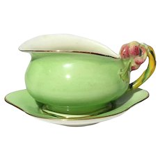 Royal Winton Tiger Lilly Cream Pitcher And Liner Tray