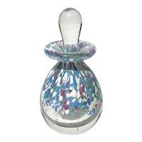 Signed Art Glass Perfume Bottle
