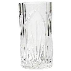 Waterford Cut Crystal Castleton Oval Vase