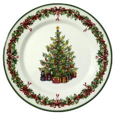 Holiday Celebrations Dinner Plate By CHRISTOPHER RADKO