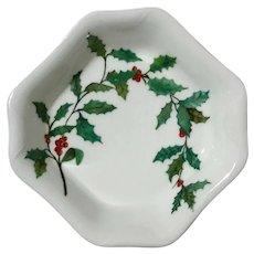 Haviland Limoges Porcelain Holly Bowl