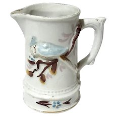 Staffordshire Pottery Pitcher