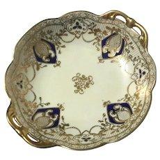 Hand-Painted Noritake Moriage Porcelain Bowl