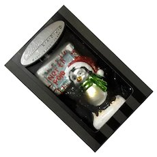 Christopher Radko North Pole Penguin Ornament