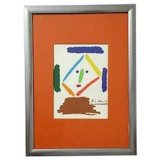 Original Signed Picasso Lithograph