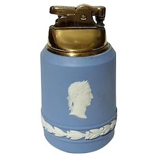 Wedgwood Blue Jasperware Lighter