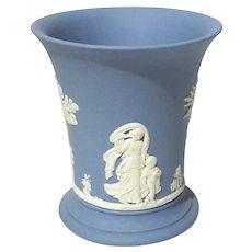 Wedgwood Blue Jasperware Beaker