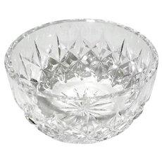 Vintage Signed Irish Waterford Crystal Bowl
