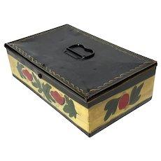 Antique Toleware Box