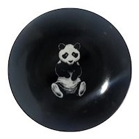 Couroc Of Monterey Panda Bowl