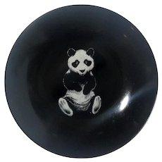 Couroc Of Monterey Panda Bowl