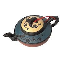 Vintage Signed Chinese YiXing Clay Teapot