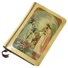 Celluloid Cover Prayer Book, Circa 1932