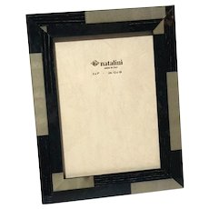 Natalini Hand-Made Italian Marquetry Wood Photo Frame