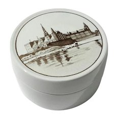Royal Copenhagen Round Box