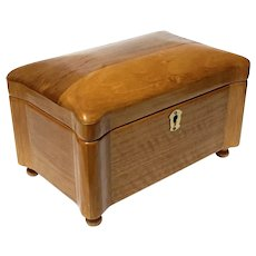 Mele Solid Oak Jewelry Chest
