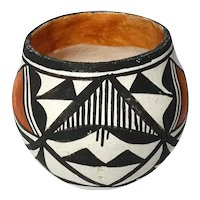 Vintage Signed Acoma New Mexico Pottery