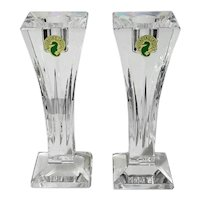 Waterford Crystal Clarion Candle Holders
