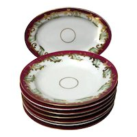 Set Of 19th Century English Porcelain Bowls And Platter