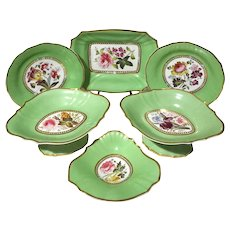 18th Century English Porcelain Desert Set