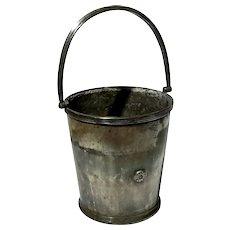 U.S.M. COM Silver Soldered Ice Bucket