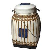 Vintage Extra Large Bamboo Rice Box
