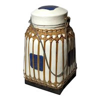 Vintage Large Bamboo Rice Box