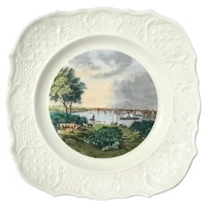Currier And Ives Americana Series Baltimore Whetstone Point Plate