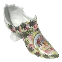 French Porcelain Shoe
