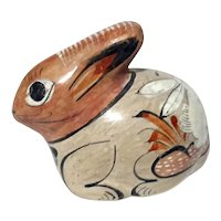 Mexican Tonala Pottery Rabbit